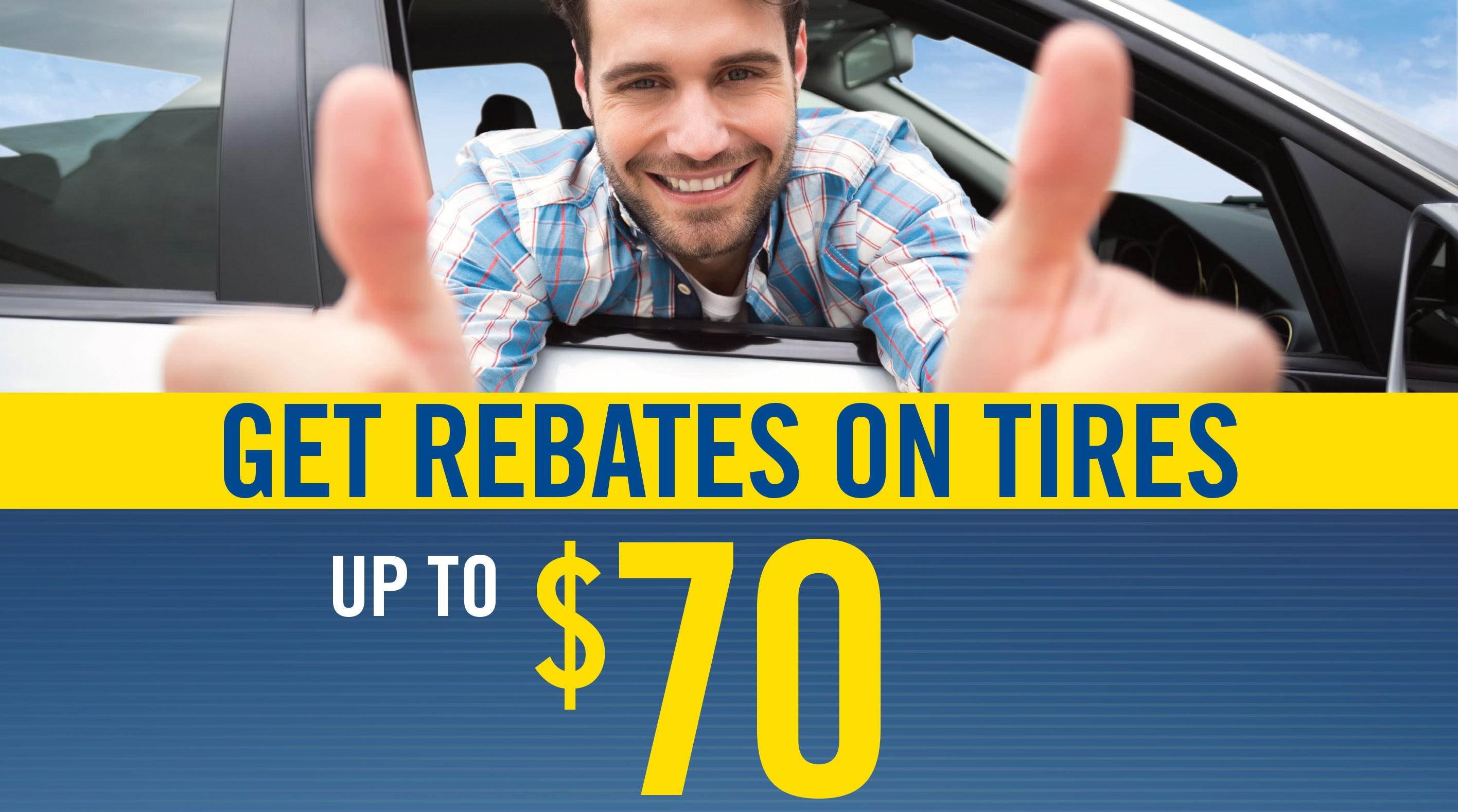 Get your goodyear rebate in Jacksonville beach today