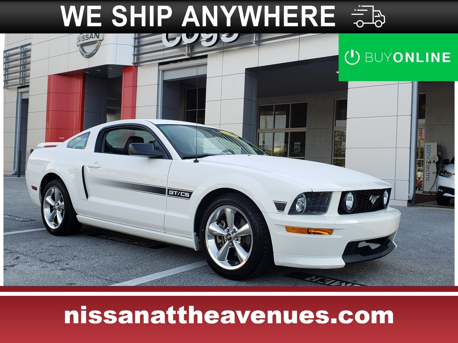 Pre owned 2009 ford mustang coupe rear wheel drive in jacksonville fl