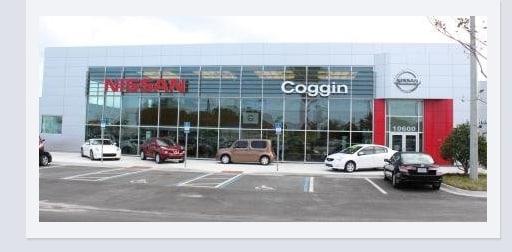 Great Coggin Nissan On Atlantic 10600 Atlantic Blvd. Jacksonville, FL 32225