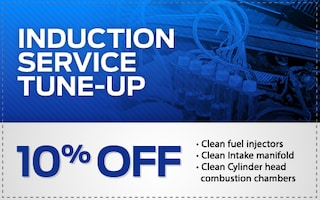 10% Off an Induction Service Tune-Up