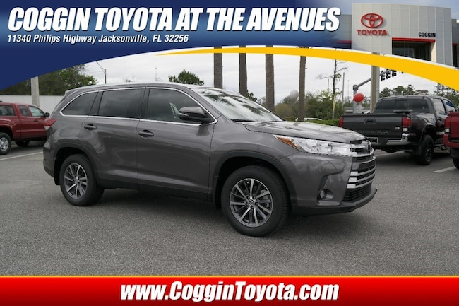 Toyota Phillips Highway >> New 2019 Toyota Highlander For Sale At Coggin Toyota At The Avenues