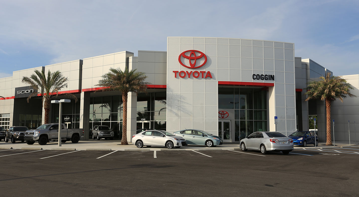Coggin Toyota at the Avenues Directions
