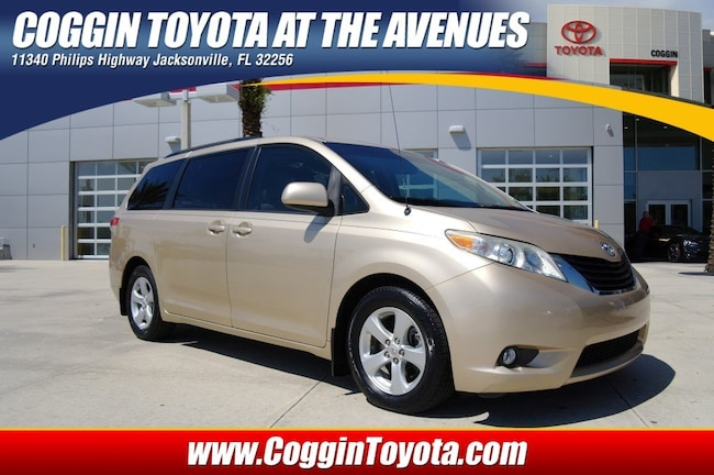 Toyota Phillips Highway >> Used 2012 Toyota Sienna For Sale At Coggin Toyota At The Avenues