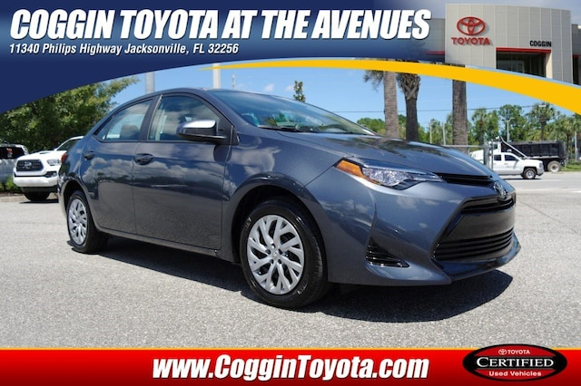 Toyota Jacksonville Fl >> Toyotas For Sale Certified Pre Owned Toyota Dealer