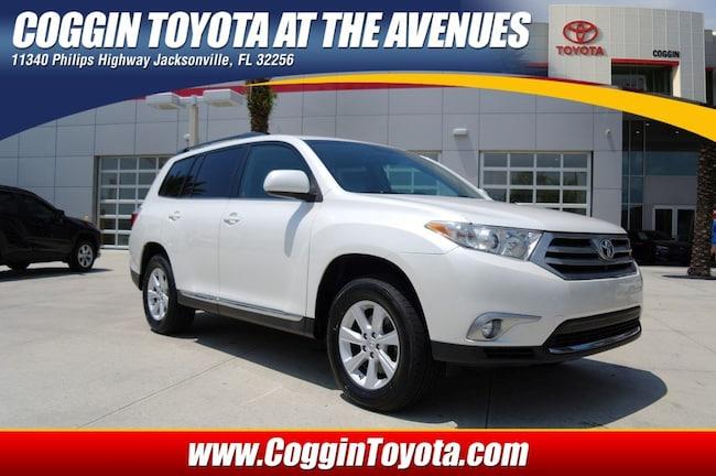 Toyota Phillips Highway >> Used 2013 Toyota Highlander For Sale At Coggin Honda St Augustine