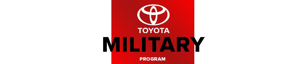 Toyota Military Offers and Incentives