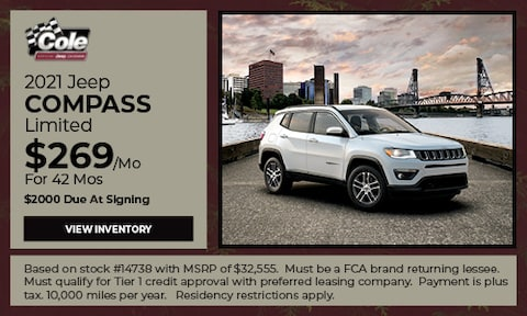 2021 Jeep Compass - Lease