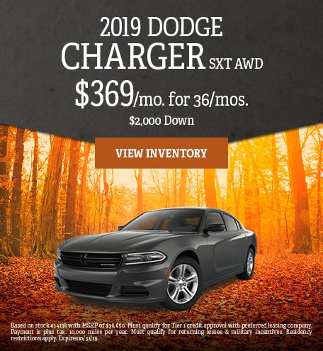 October 2019 Dodge Charger Special