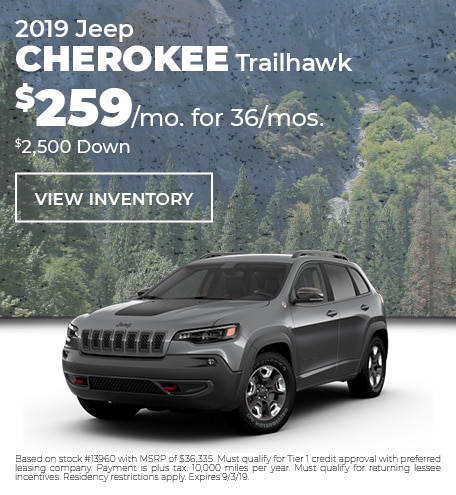 August 2019 Cherokee Special