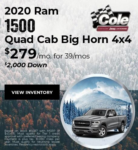 January 2020 Ram 1500 Offer 2