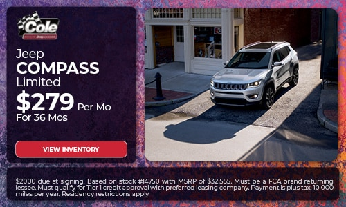 Jeep Compass - Lease