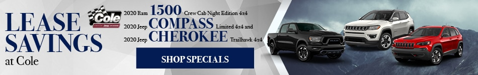 December Lease Savings at Cole