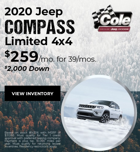 January 2020 Jeep Compass Offer