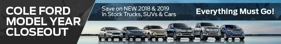 October 2019 Model Year Closeout
