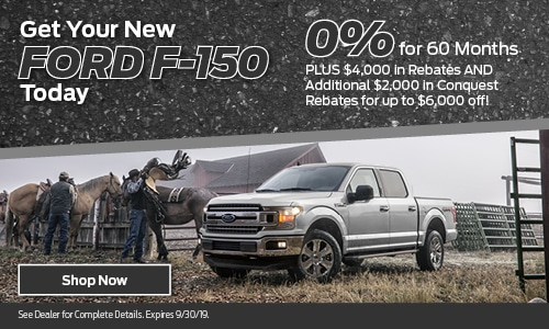 September 2019 Ford F-150 Special