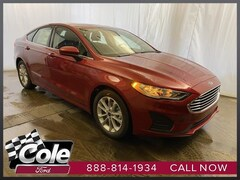 new 2020 Ford Fusion SE Sedan coldwater