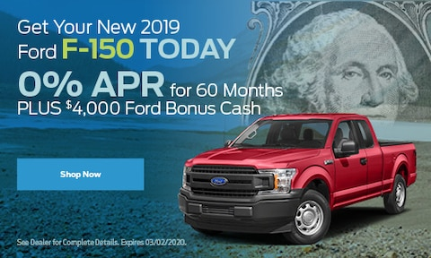 Get Your New 2019 Ford F-150 Today