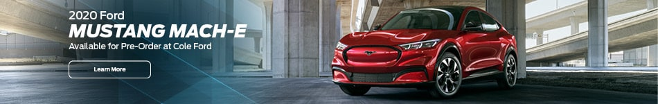 2020 Ford Mustang Mach-E