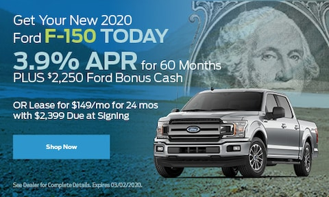Get Your New 2020 Ford F-150 Today