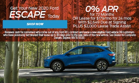 New Ford Escape - August