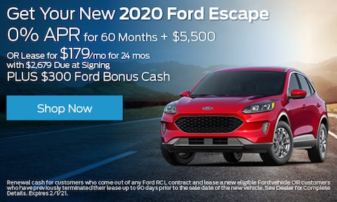 2020 Ford Escape - Multiple Offers