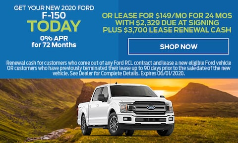 2020 Ford F-150 Offer - May