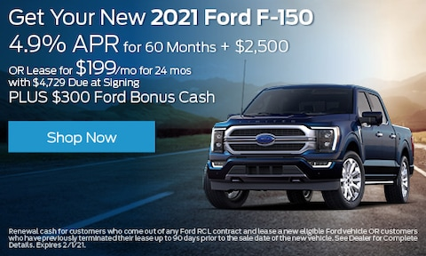 2021 Ford F-150 - Multiple Offers