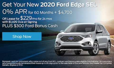 2020 Ford Edge - Multiple Offers