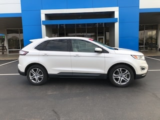 Used 2015 Ford Edge Titanium SUV for Sale in Nash, TX