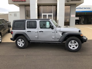 New  2019 Jeep Wrangler UNLIMITED SPORT S 4X4 Sport Utility for Sale in Nash, TX
