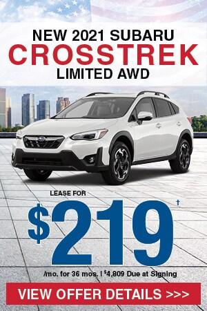 New 2021 Subaru Crosstrek Limited AWD