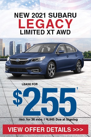 New 2021 Subaru Legacy Limited XT AWD