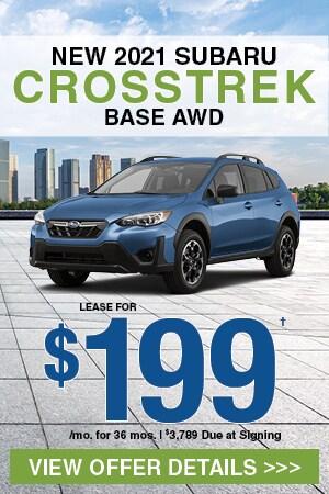 New 2021 Subaru Crosstrek Base AWD