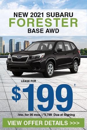 New 2021 Subaru Forester Base AWD