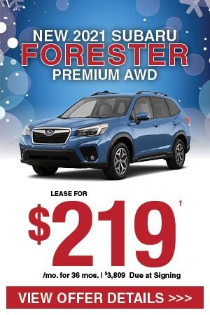 New 2021 Subaru Forester Premium AWD