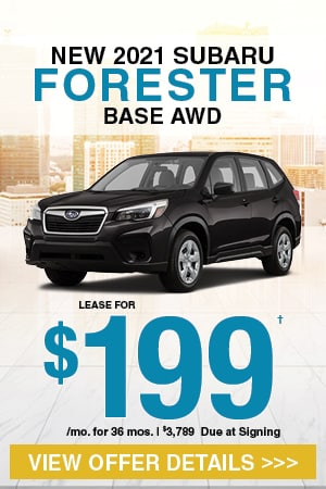 New 2021 Subaru Forester Base AWD