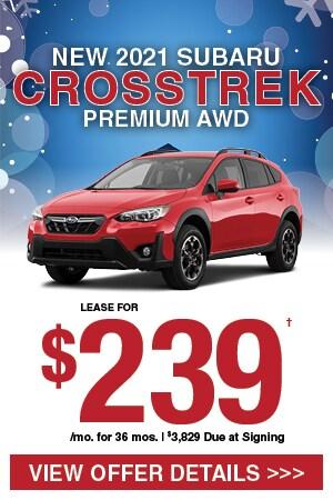 New 2021 Subaru Crosstrek Premium AWD