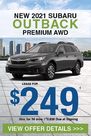 New 2021 Subaru Outback Premium AWD