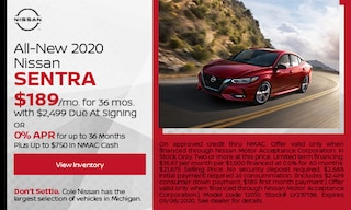 All-New 2020 Nissan Sentra - August