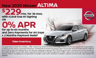 New 2020 Nissan Altima - June