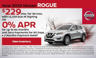 New 2020 Nissan Rogue - June