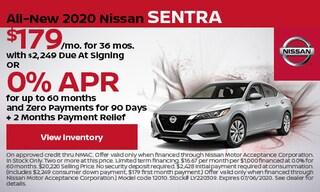 All-New 2020 Nissan Sentra - June
