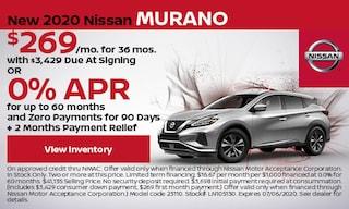 New 2020 Nissan Murano - June