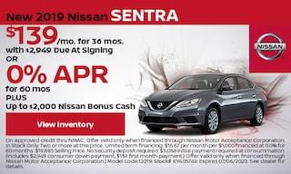 New 2019 Nissan Sentra - June