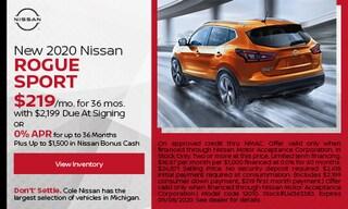 New 2020 Nissan Rogue Sport - August