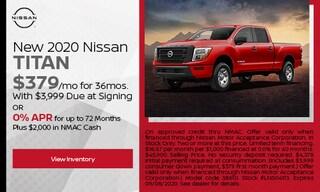 New 2020 Nissan Titan - August
