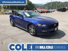 Used 2016 Ford Mustang 2DR Fastback Ecoboost Coupe 1FA6P8THXG5245722 in Bluefield, WV