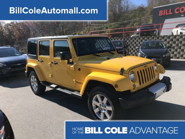 Featured used 2015 Jeep Wrangler Unlimited Wrangler X SUV for sale in Bluefield, WV