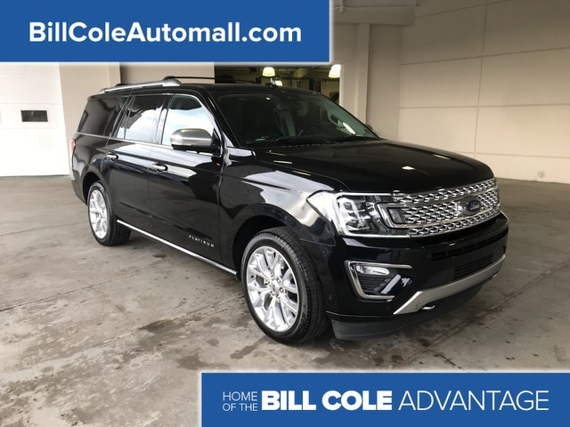 Featured used 2018 Ford Expedition Max Platinum SUV for sale in Bluefield, WV