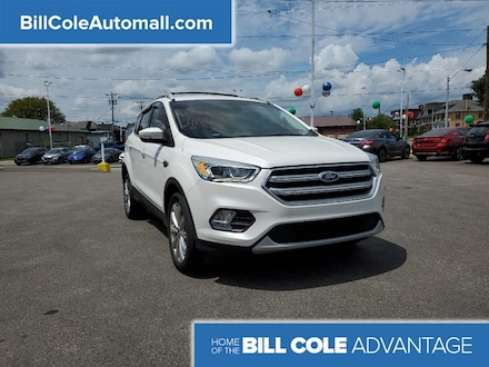 Featured used 2017 Ford Escape Titanium SUV for sale in Bluefield, WV